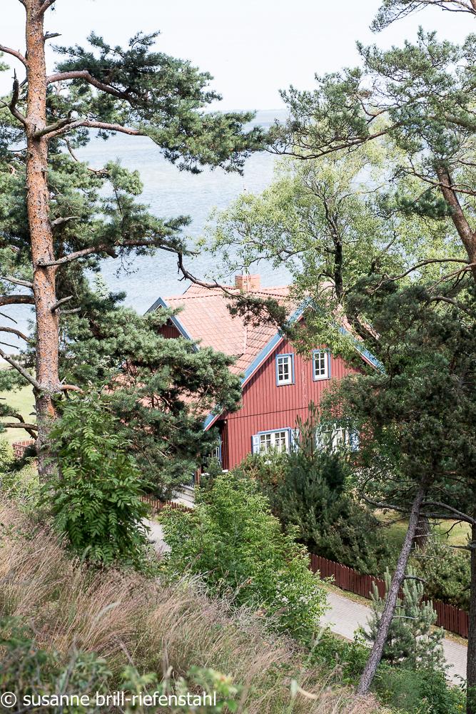 Das Thomas-Mann-Haus bei Nidden / Kurische Nehrung