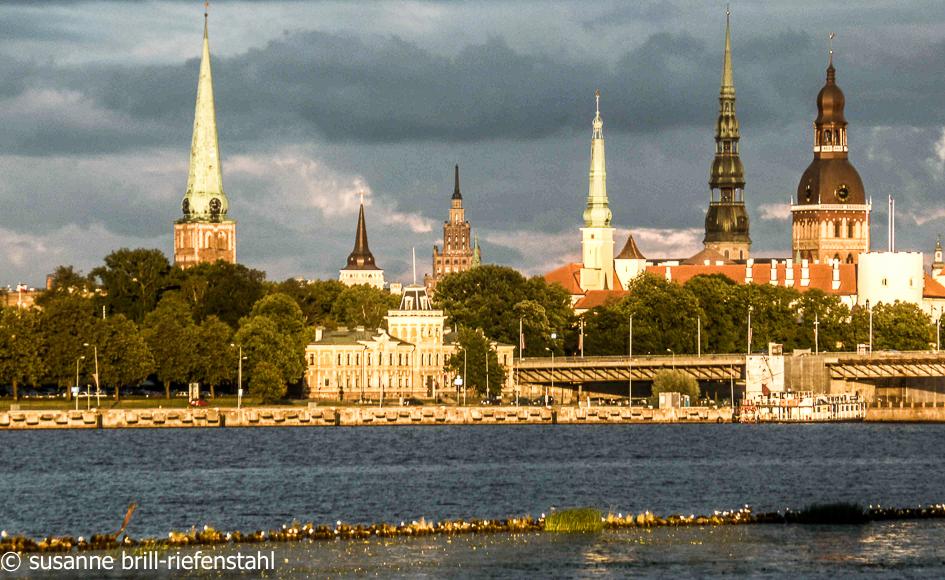 Riga / von der Duna aus