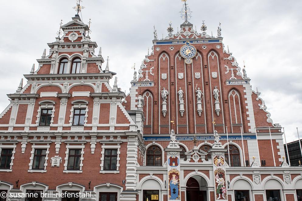 Riga / das Schwarzhäupterhaus