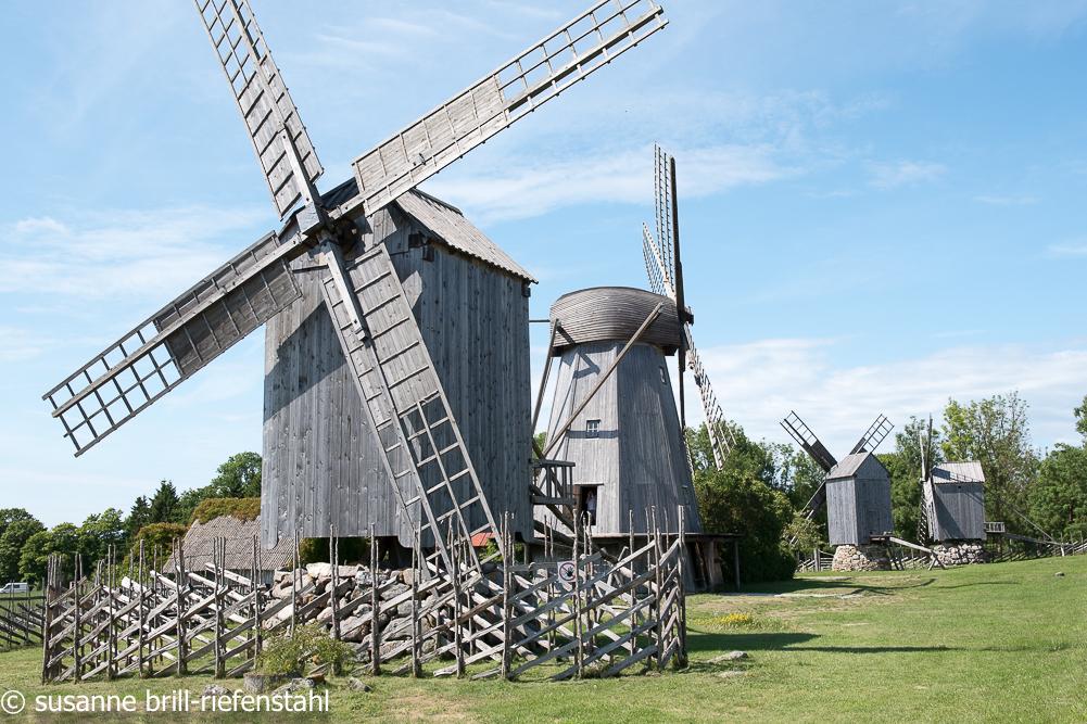 Windmühlen-Museum bei Angla