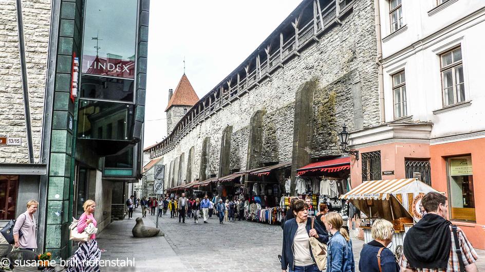 Tallinn (Reval) / Stadtmauer