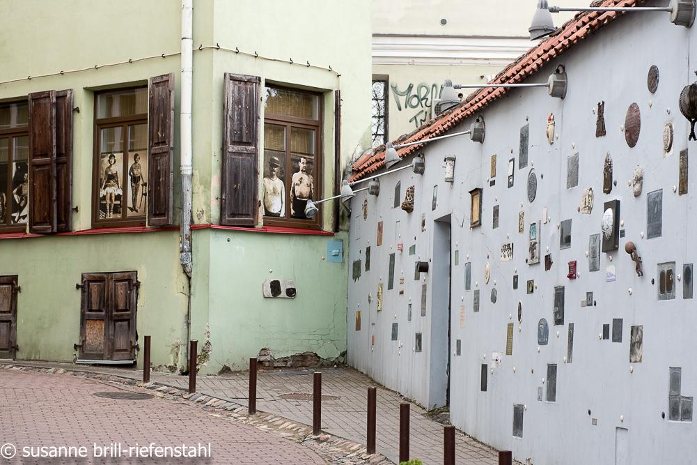 Vilnius (Wilna) / Poesiewand