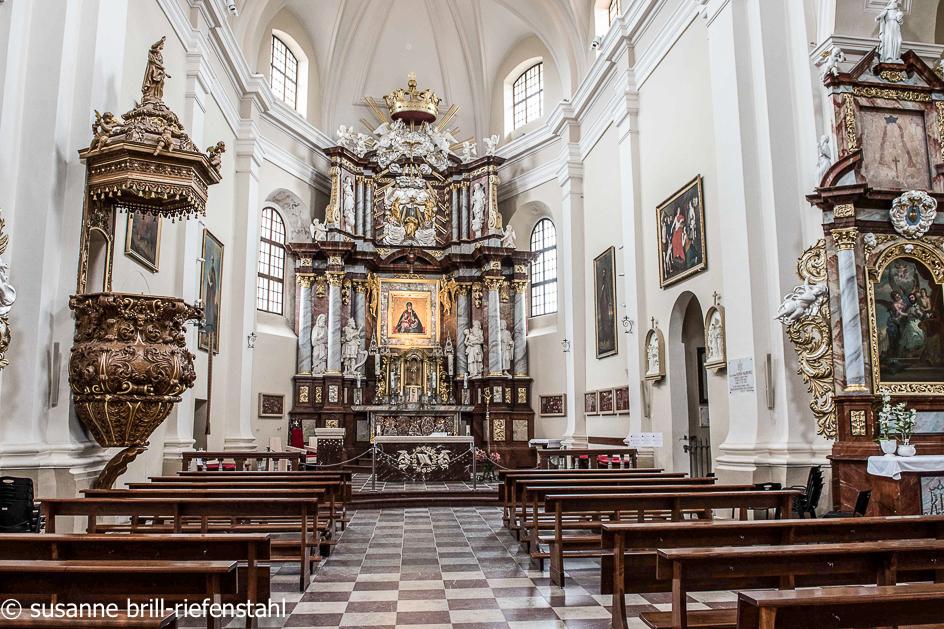 Vilnius (Wilna) / Kirche