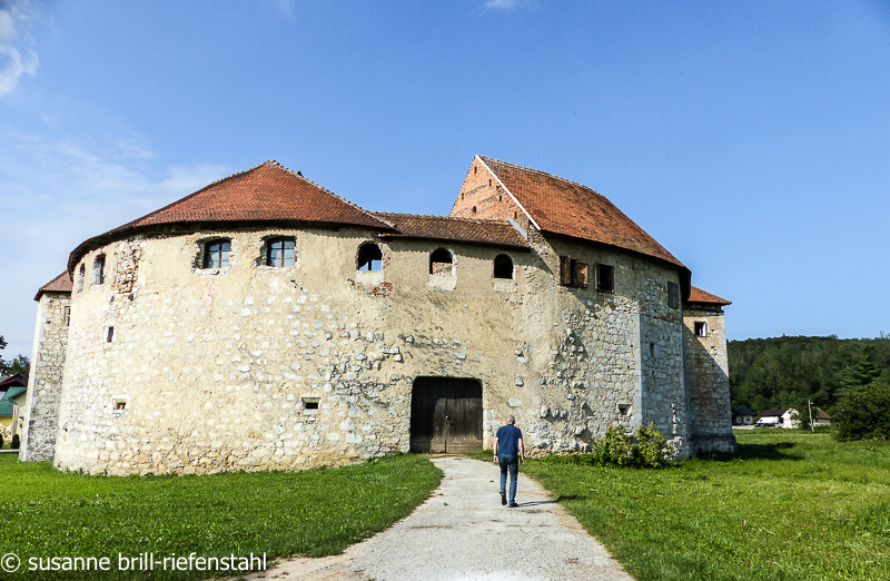 Burg bei Ljubljana