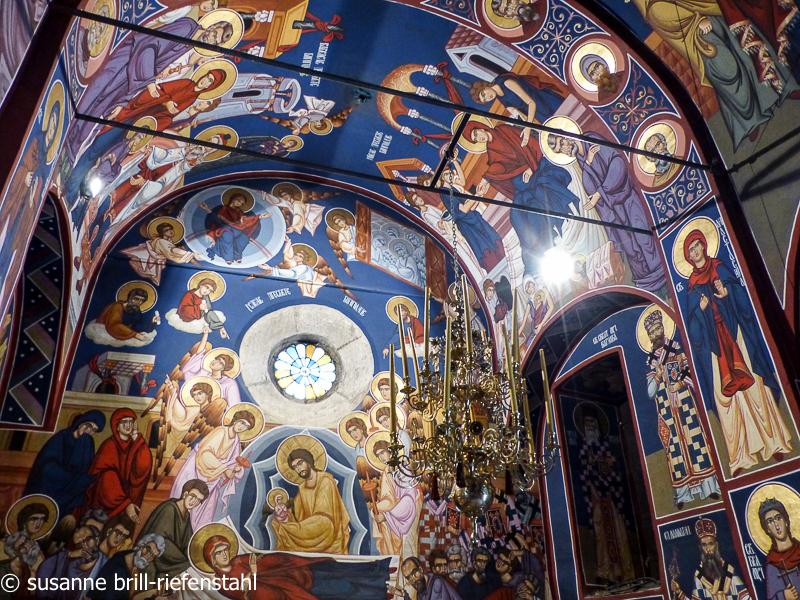 orthod. Kloster in Krka