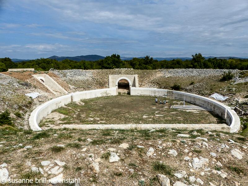 römisches Tgeater in Burnum
